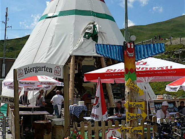 A Teepee in Switzerland?