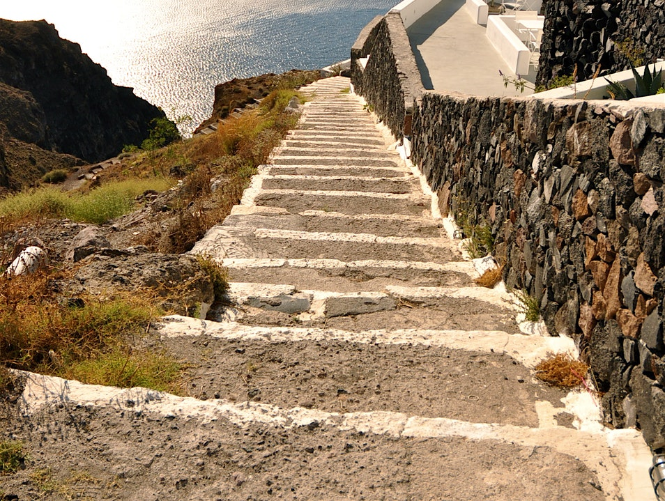 Stairway to Heaven Thera  Greece