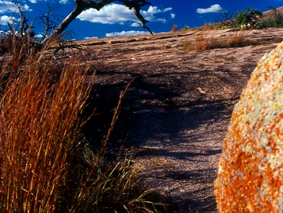 Enchanted Rock State Natural Area  Llano Texas United States