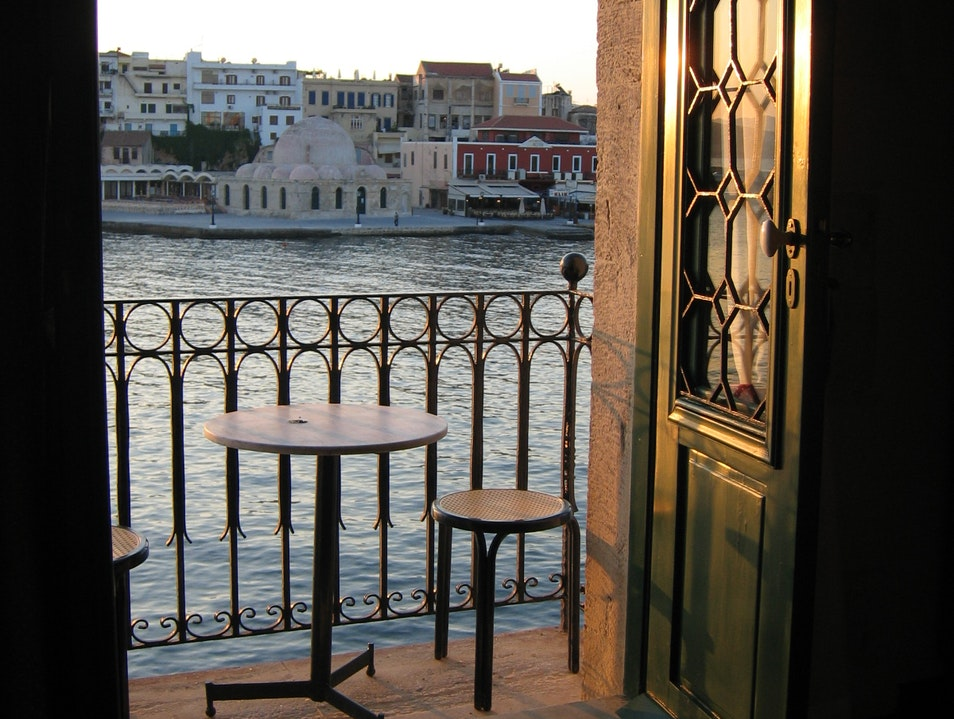 Venetian House of Lion Chania  Greece