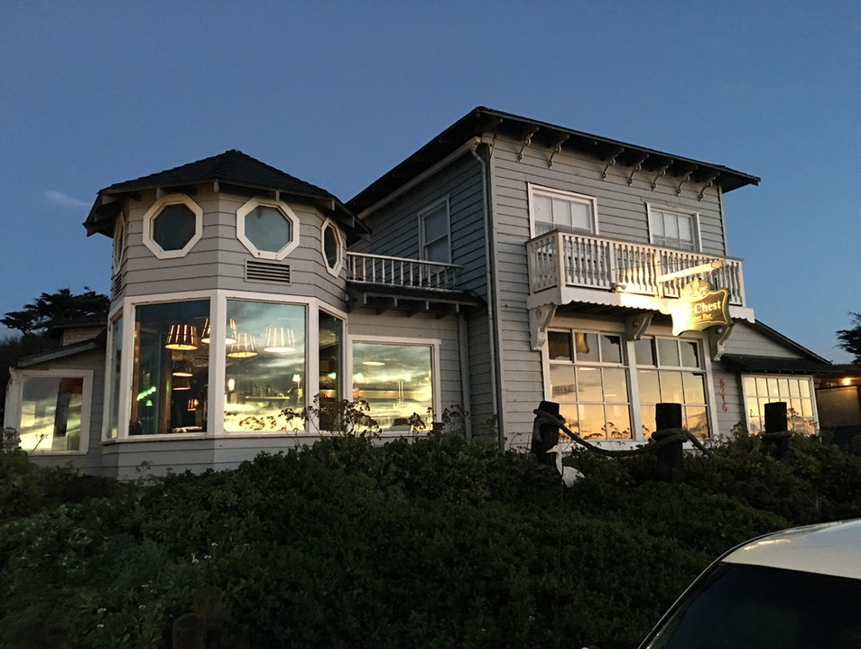 Dinner at the Sea Chest Cambria California United States