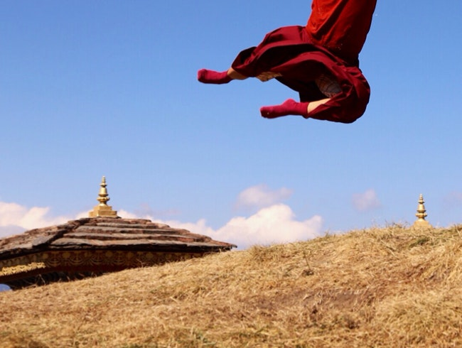 Flying Monks of Bhutan
