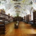 Strahov Monastery Prague  Czech Republic