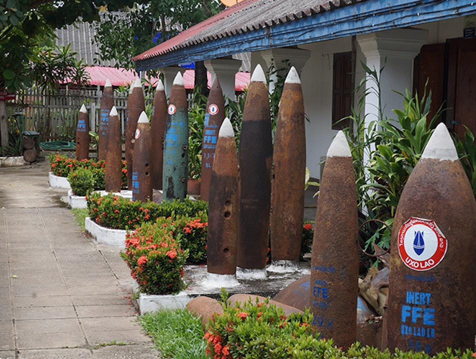 UXO Laos Visitor Center Luang Prabang  Laos