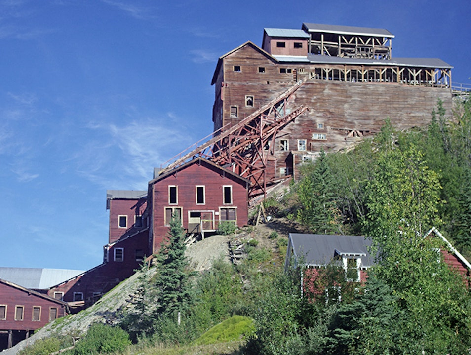 Kennecott Mines National Historic Landmark Chitina Alaska United States