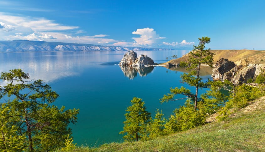 A stop along Lake Baikal is one of the most memorable parts of the Trans-Siberian journey.