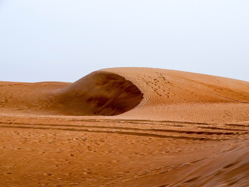 Natural Beauty in the Arabian Desert Ras al Khaimah  United Arab Emirates