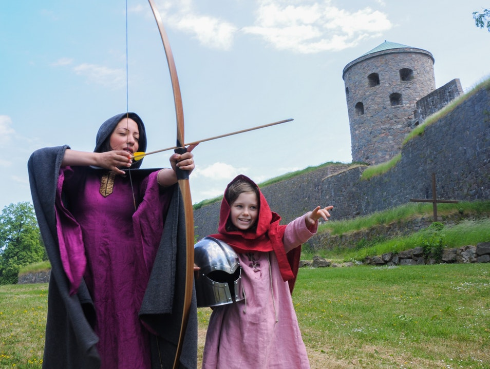 Medieval Fortress Fun Kungälv  Sweden