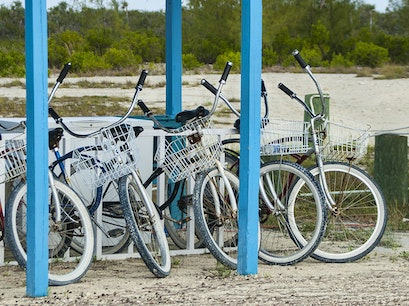 Biking Cat Island  The Bahamas