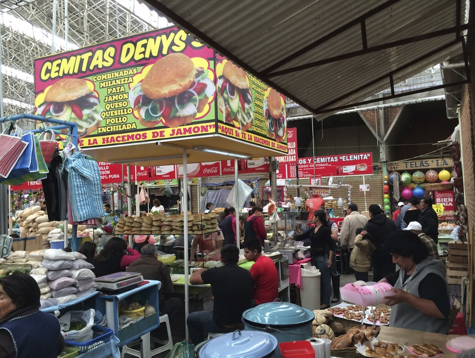 In this corner: tortas and pastries Tlaxcala  Mexico