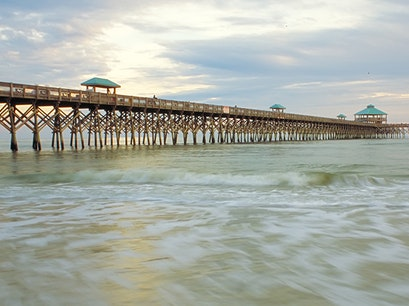 Folly Beach Pier Folly Beach South Carolina United States