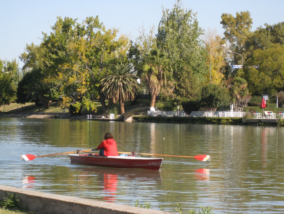 The Lake in San Martin Park Mendoza  Argentina