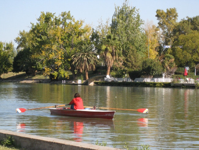 The Lake in San Martin Park