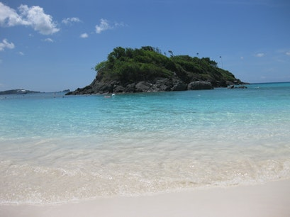 Trunk Beach St. John  United States Virgin Islands