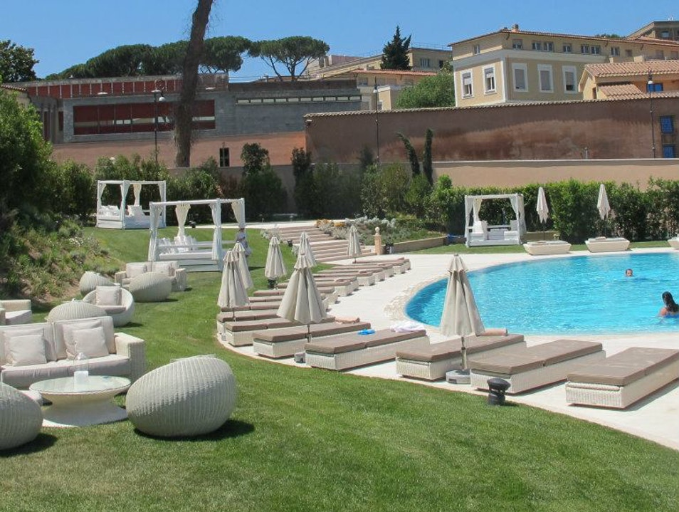An Urban Oasis in Rome, Italy Rome  Italy