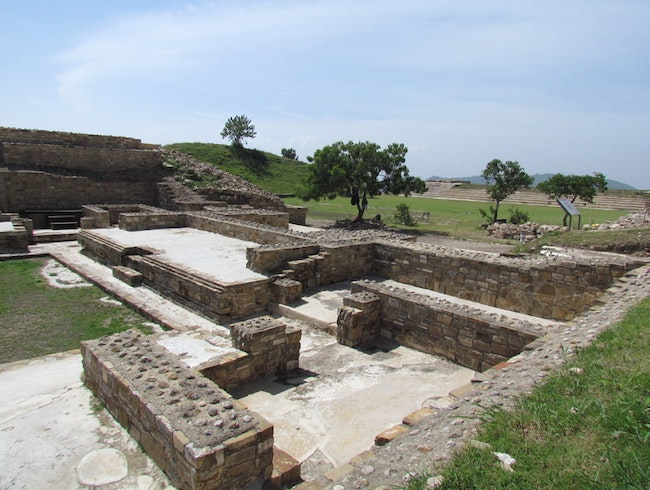 Archaeological Site with Beautiful Views