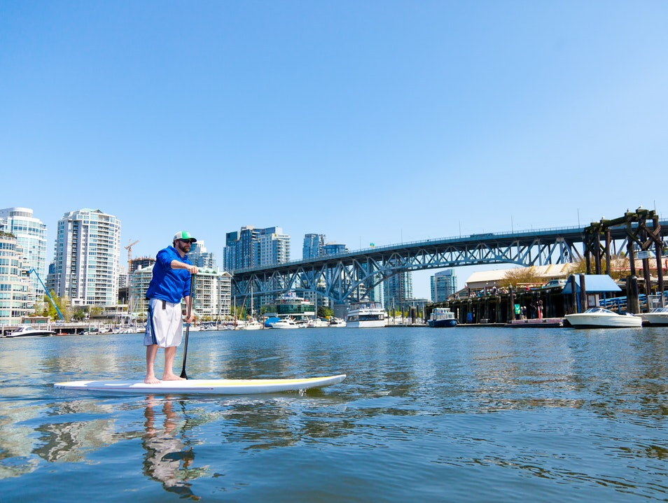 Learn to Stand Up Paddleboard Vancouver  Canada