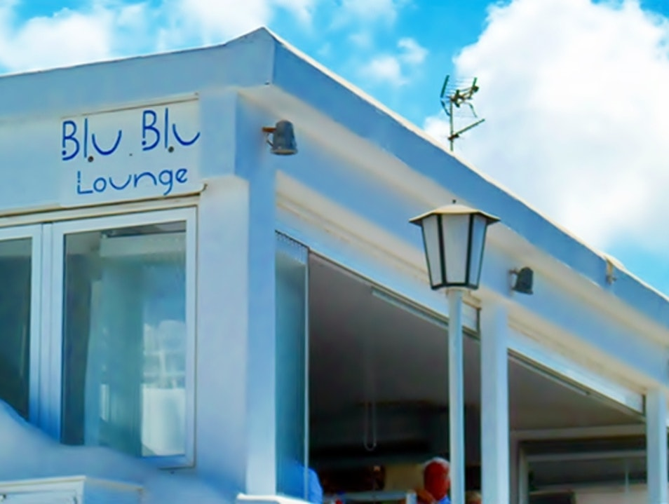 Blu - blu Lounge Cafe Bar | Restaurant Mykonos  Greece