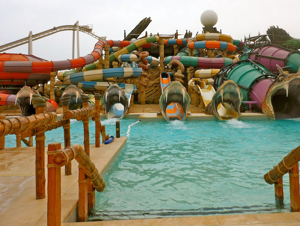Waterpark Rush Abu Dhabi  United Arab Emirates