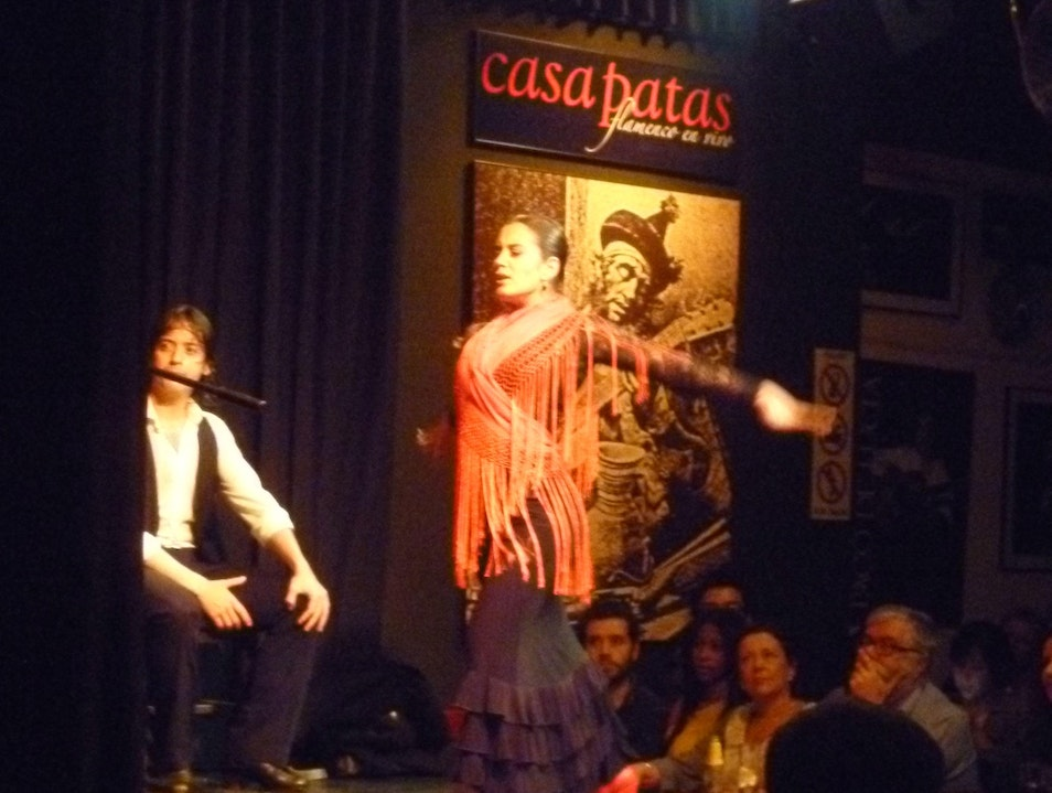 Flamenco in Madrid Madrid  Spain