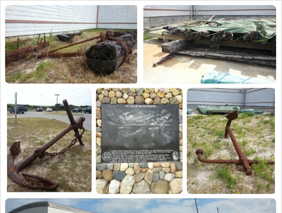 Museum to the Ghost Fleet of the Outer Banks Hatteras North Carolina United States