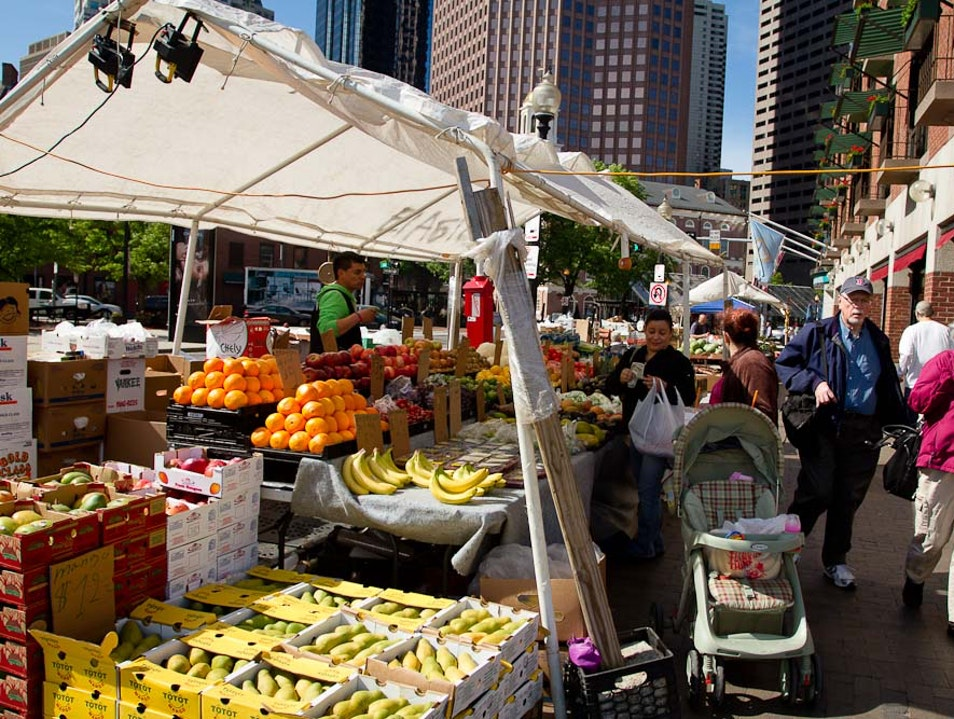 Weekend Markets... Boston Massachusetts United States