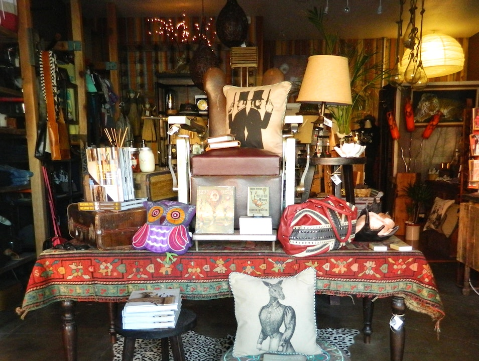 Eclectic boutique in South Park, San Diego