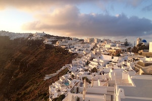 Path from Fira to Oia