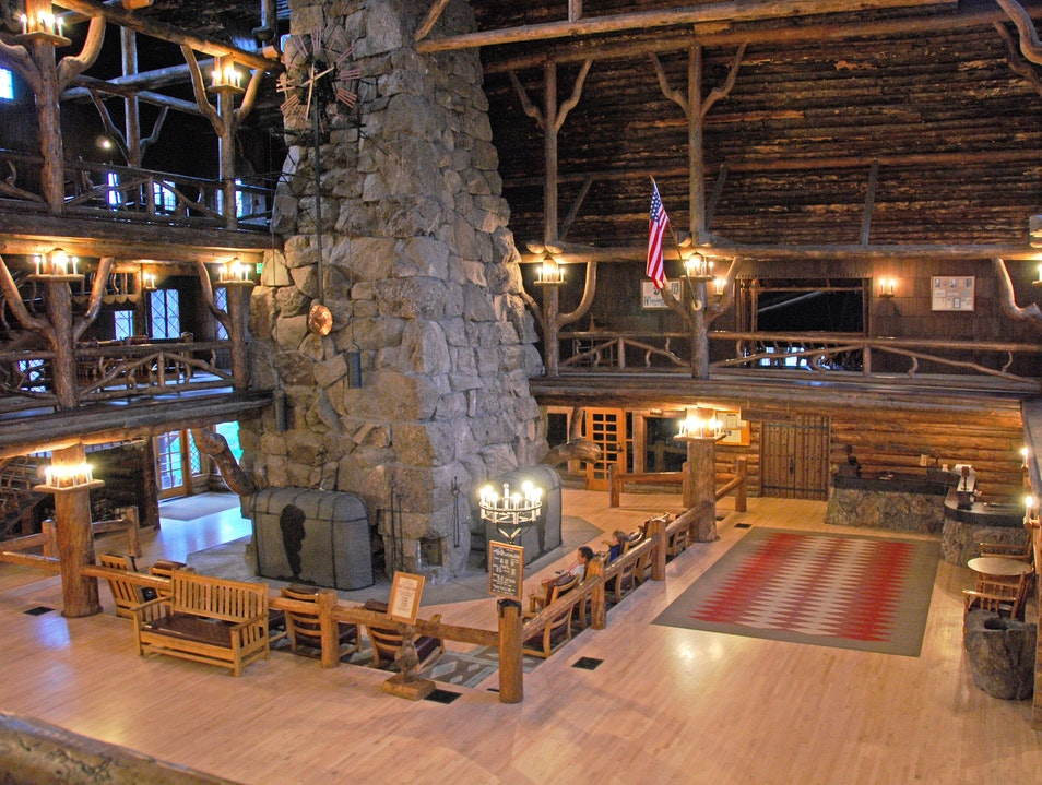 Old Faithful Inn, Yellowstone National Park, WY Yellowstone National Park Wyoming United States