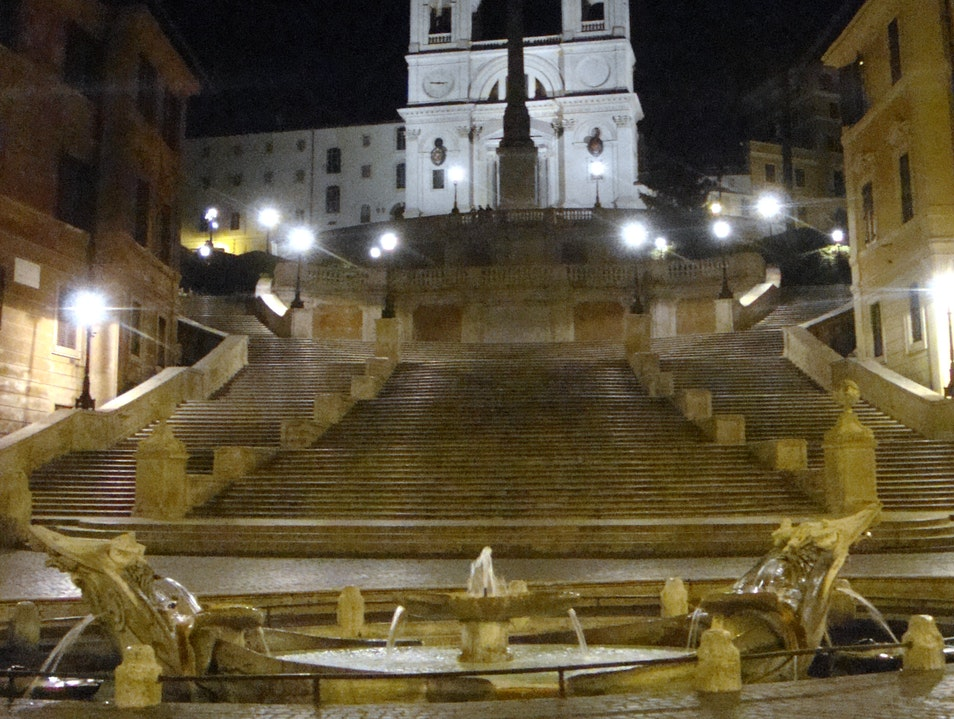 Are these the Spanish Steps? Rome  Italy