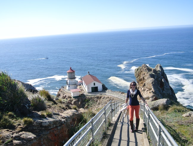 A Clear Day at the (2nd) Foggiest Lighthouse in North America