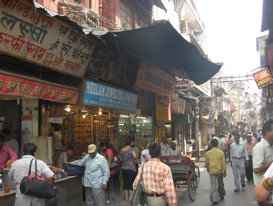 Shop in Chandni Chowk New Delhi  India