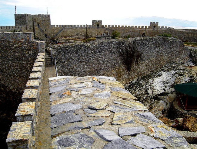 Samuil's fortress in Ohrid
