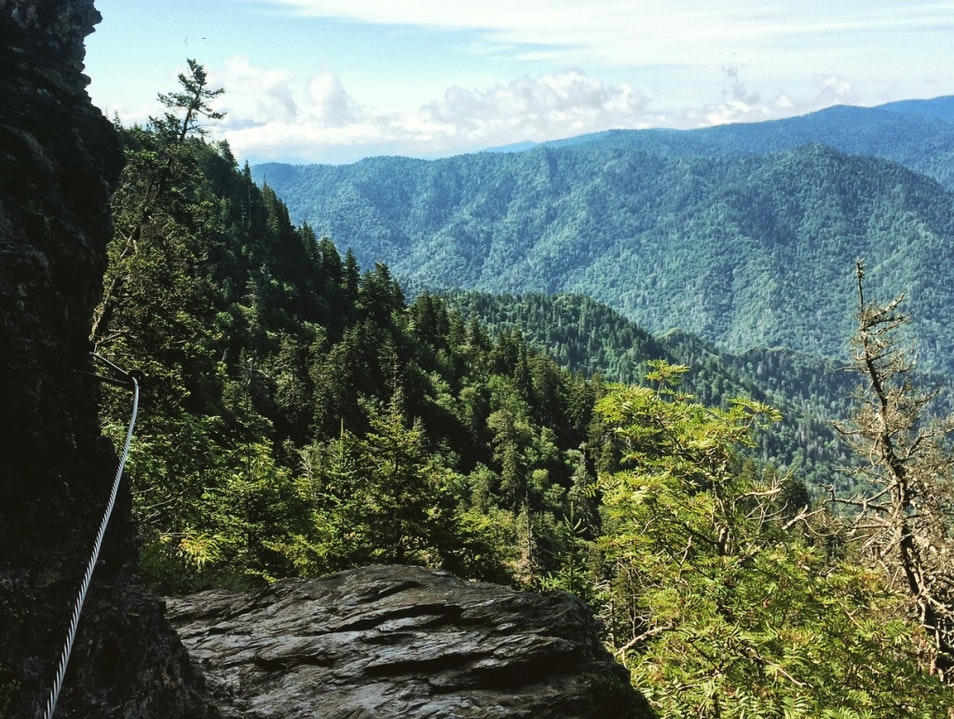 Best Adventure Hike in The Smokies Gatlinburg Tennessee United States