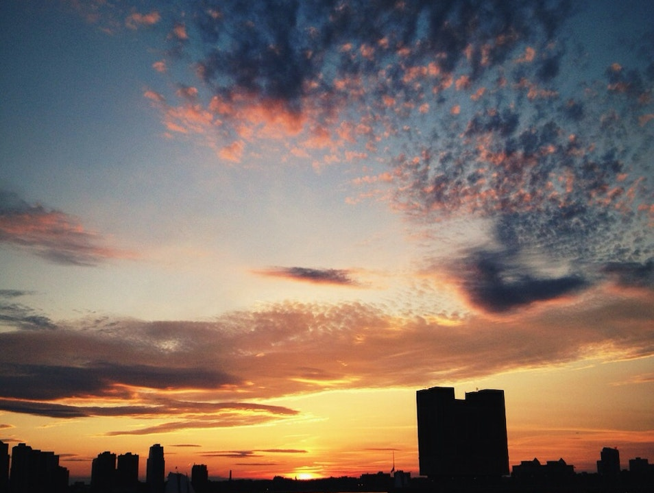Best Place for a NYC Sunset  New York New York United States