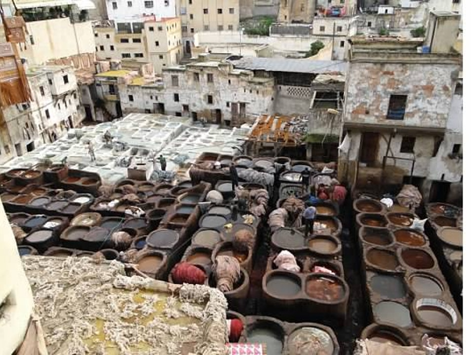 The Tannery Fes  Morocco