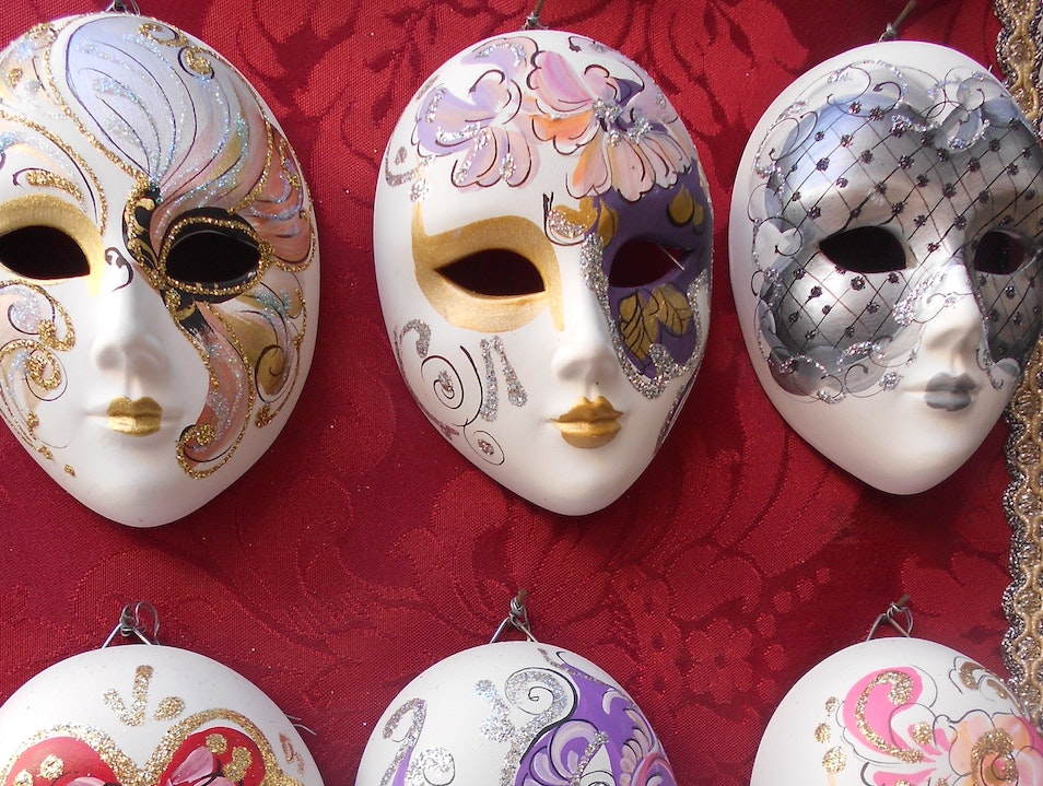 Magical Masks Venice  Italy