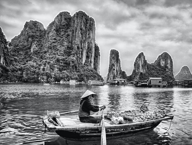 World Heritage Site: Halong Bay, Vietnam