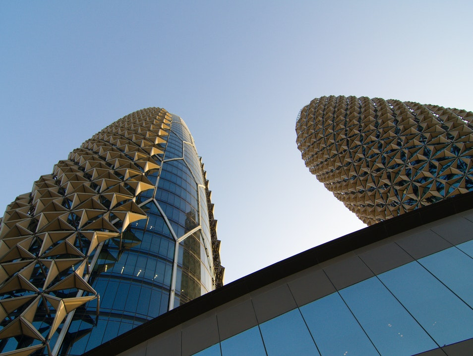 Honeycomb and Pineapple? Abu Dhabi  United Arab Emirates