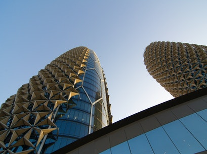 Al Bahr Towers Abu Dhabi  United Arab Emirates