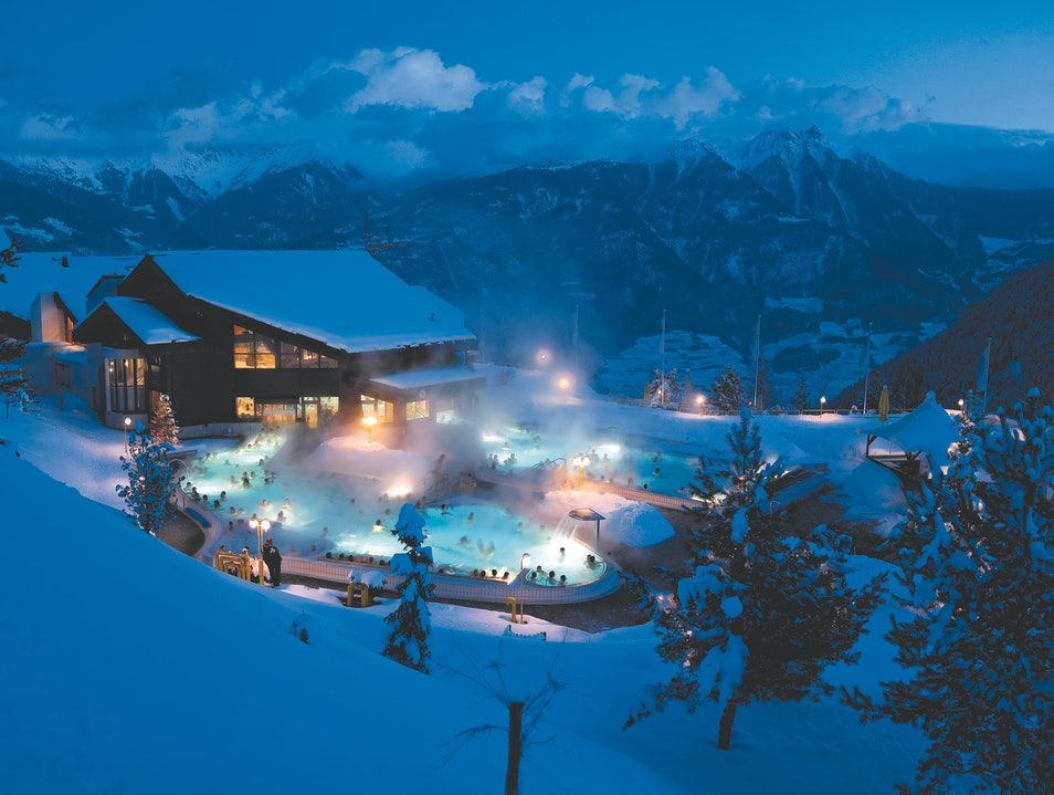 Baths You Can Drink At Switzerland