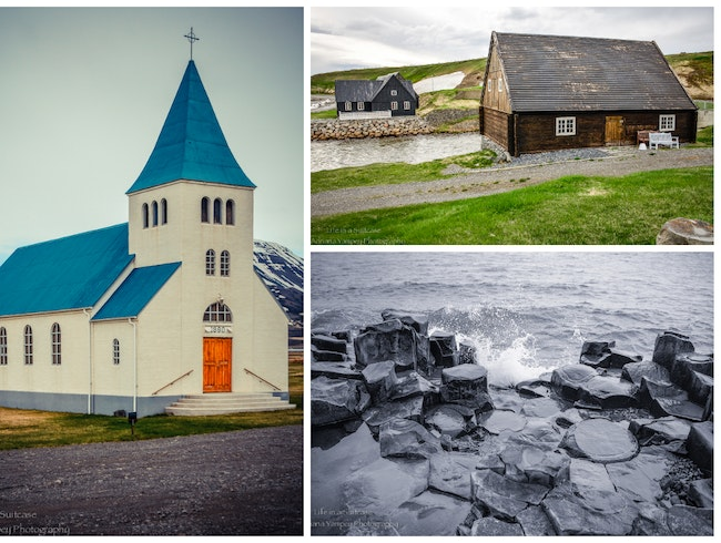 Cute town in the NE of Iceland