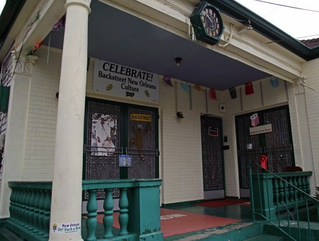 Visiting the Backstreet Cultural Museum in New Orleans
