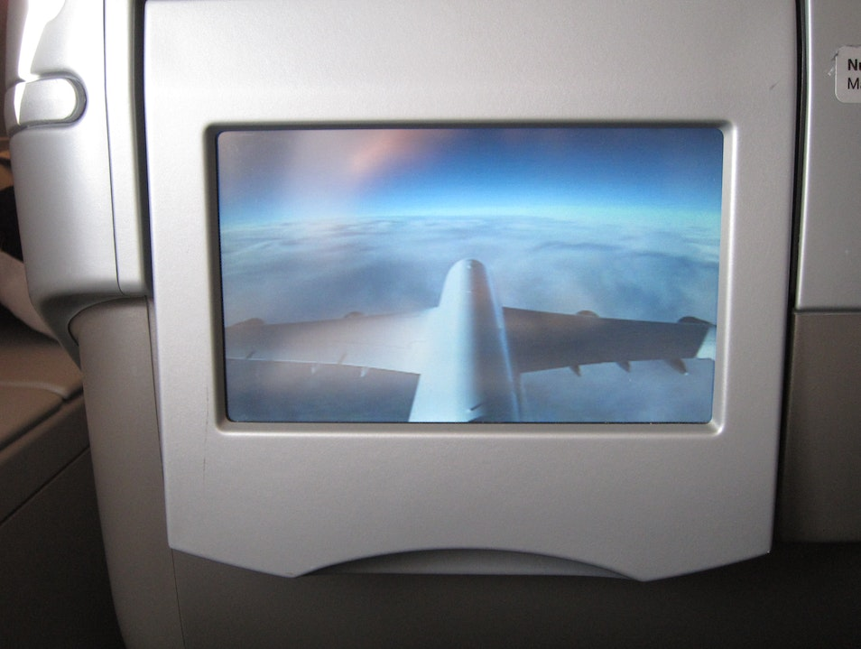 Best new airplane innovation since oxygen: the Tail Cam Frankfurt  Germany