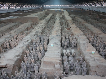 Terra-cotta Warriors and Horses Xi'an  China