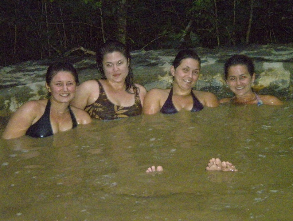 Enjoying the Hot Springs! Arenal Volcano National Park  Costa Rica