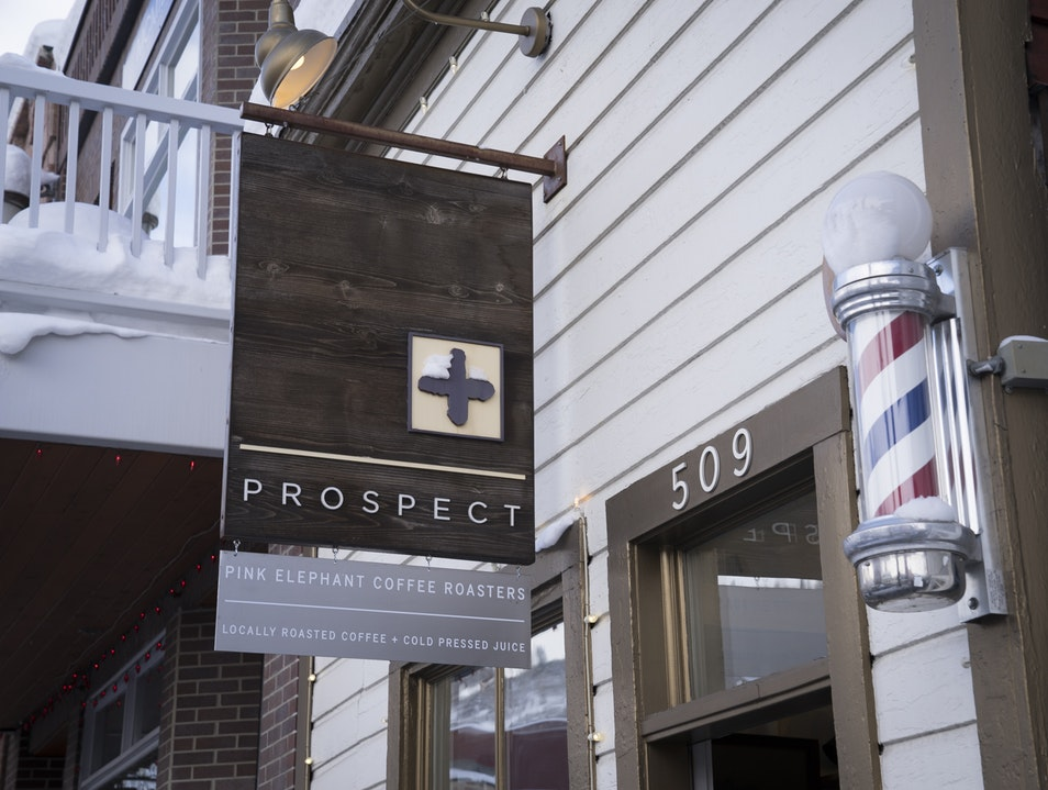 PROSPECT–Fresh Retail on Main Street Park City Utah United States