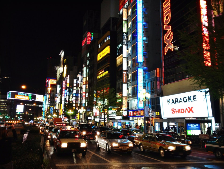 Spend a Night out on the Town Shinjuku City  Japan