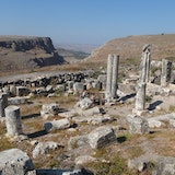 Ruins of Ancient Synagogue at Arbel