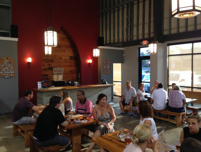 Artisanal beers at Black Abbey Brewing Company